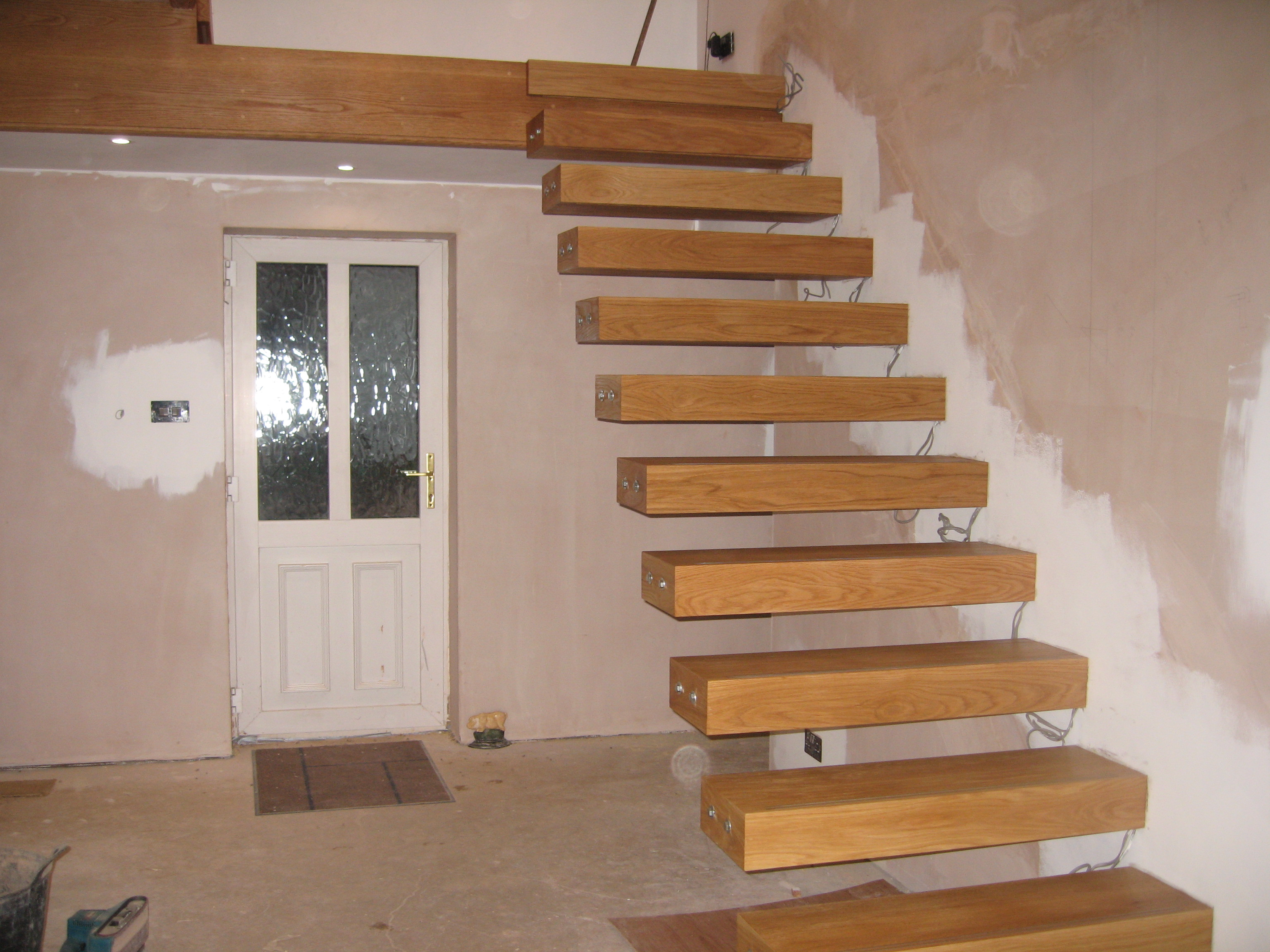 Progress At Pingle Cottage Simply Pure Logistics News. Open Staircase |  Floating ...